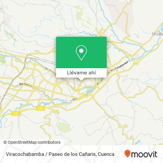 Mapa de Viracochabamba / Paseo de los Cañaris