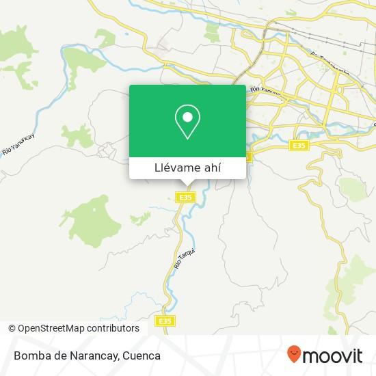 Mapa de Bomba de Narancay