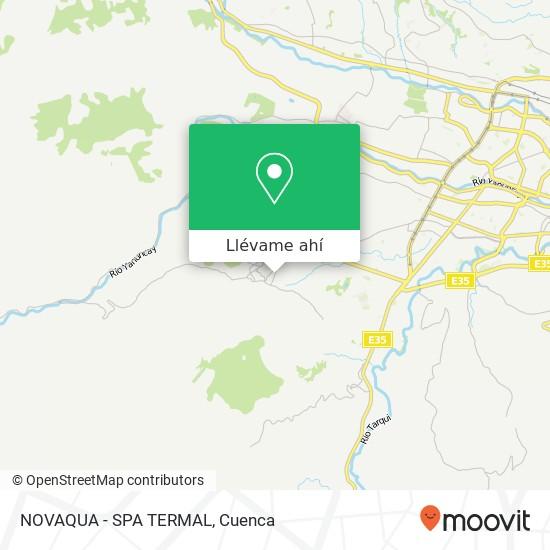 Mapa de NOVAQUA - SPA TERMAL