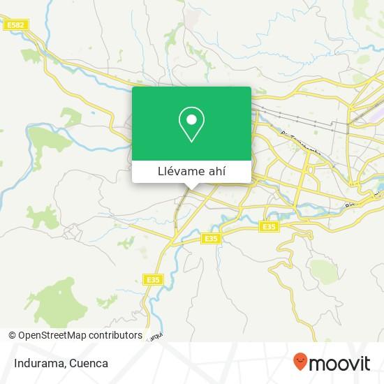 Mapa de Indurama