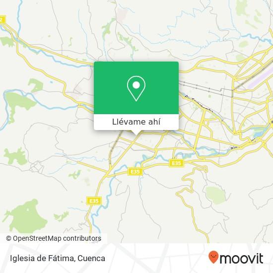 Mapa de Iglesia de Fátima