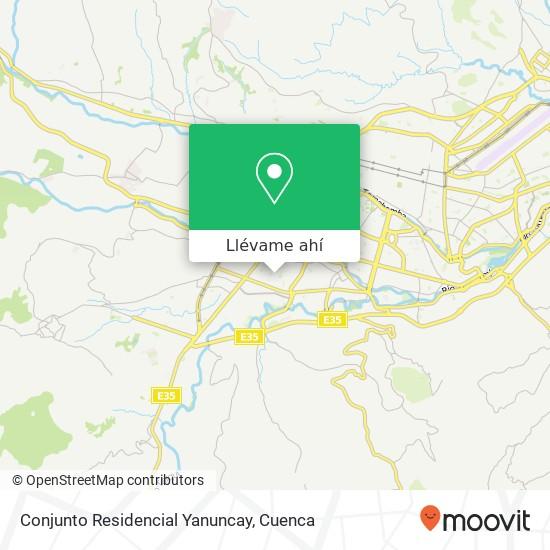 Mapa de Conjunto Residencial Yanuncay