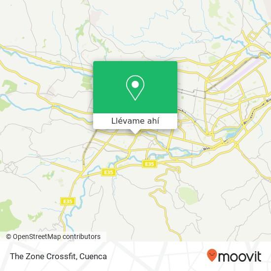 Mapa de The Zone Crossfit