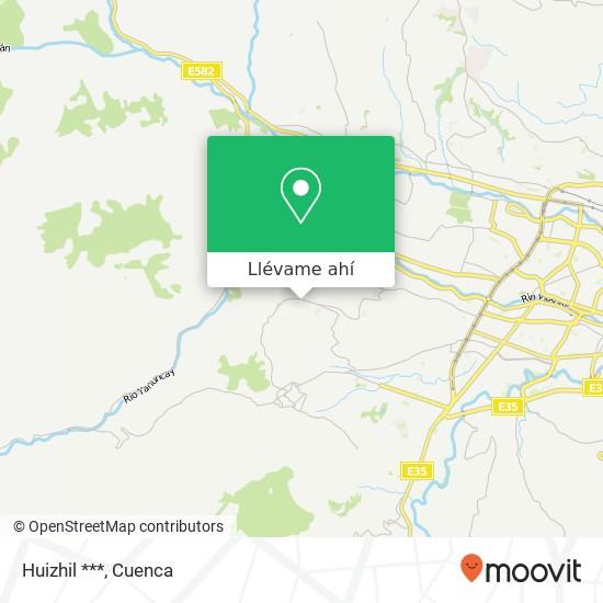 Mapa de Huizhil ***