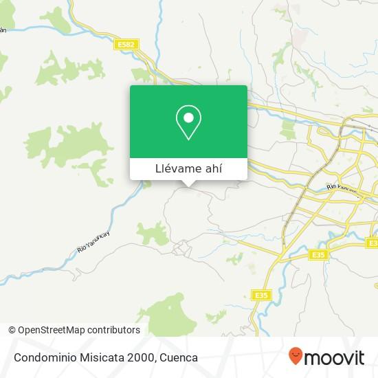 Mapa de Condominio Misicata 2000