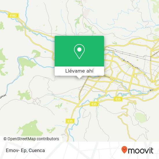 Mapa de Emov- Ep