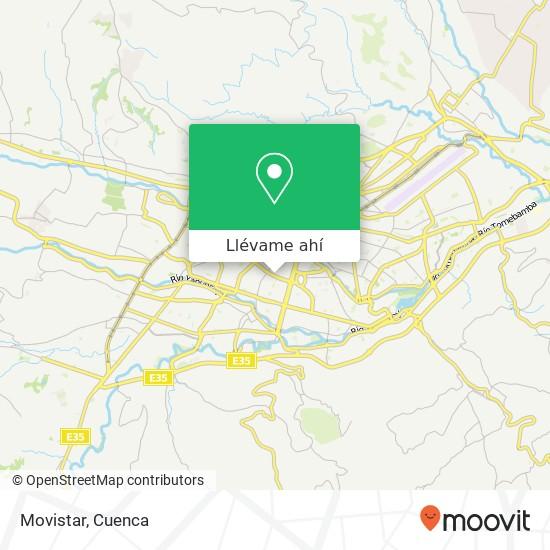 Mapa de Movistar