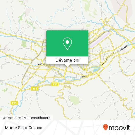 Mapa de Monte Sinai