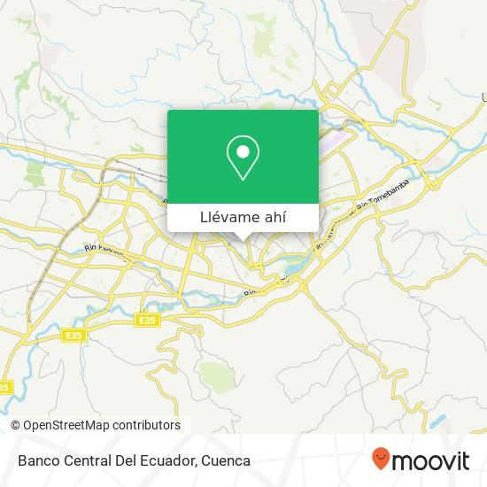 Mapa de Banco Central Del Ecuador