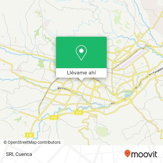 Mapa de SRI