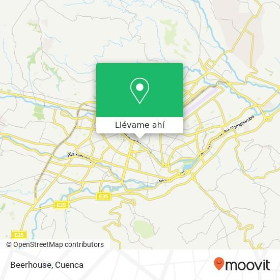 Mapa de Beerhouse