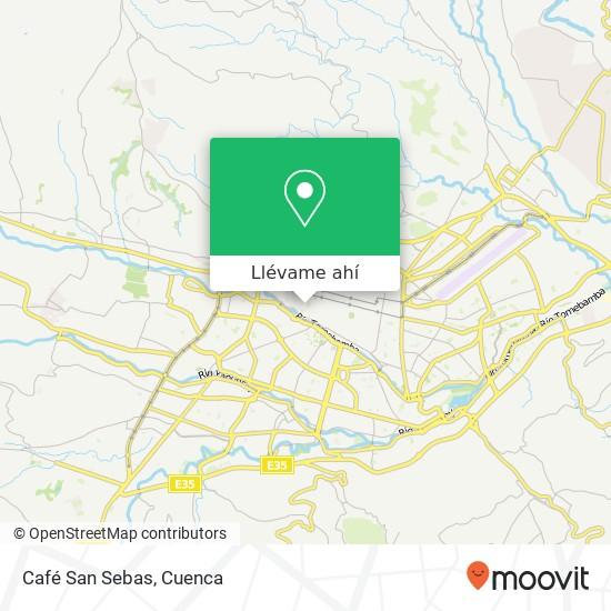 Mapa de Café San Sebas