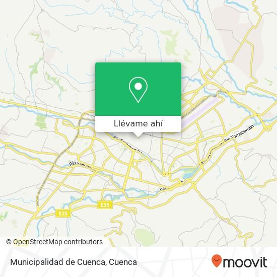 Mapa de Municipalidad de Cuenca