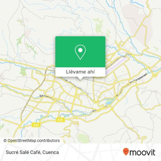 Mapa de Sucré Salé Café