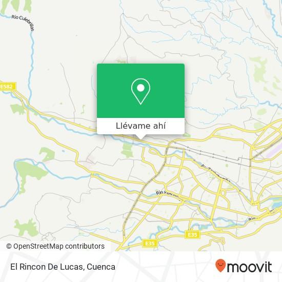 Mapa de El Rincon De Lucas