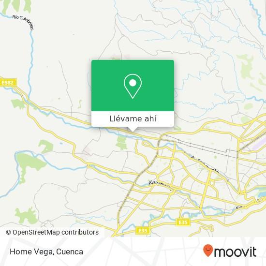 Mapa de Home Vega