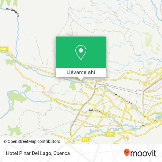 Mapa de Hotel Pinar Del Lago