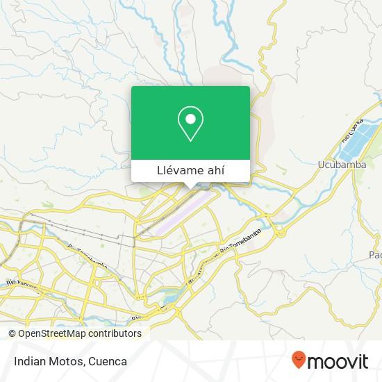 Mapa de Indian Motos