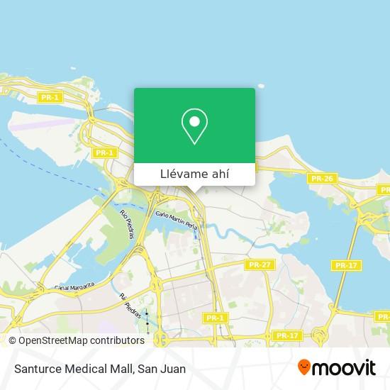 Mapa de Santurce Medical Mall