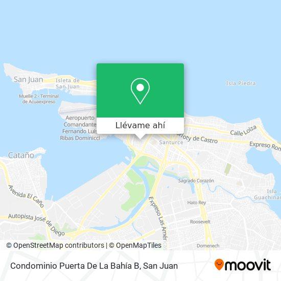 Mapa de Condominio Puerta De La Bahia