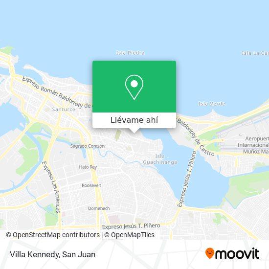 Mapa de Villa Kennedy