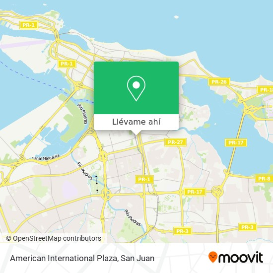 Mapa de American International Plaza