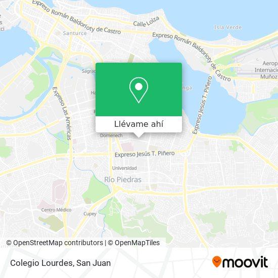 Mapa de Colegio Lourdes