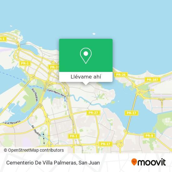 Mapa de Cementerio De Villa Palmeras