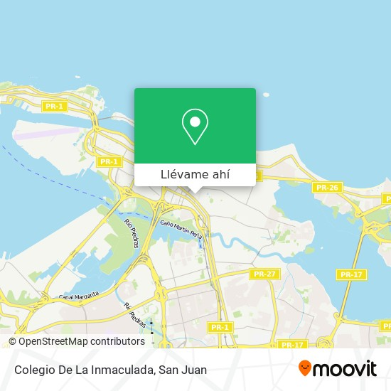 Mapa de Colegio De La Inmaculada
