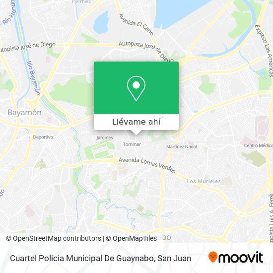 Mapa de Cuartel Policia Municipal De Guaynabo