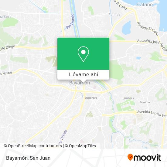 Mapa de Bayamón