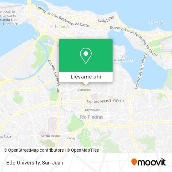 Mapa de Edp University
