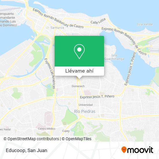Mapa de Educoop