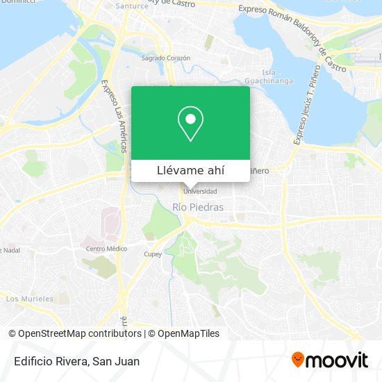 Mapa de Edificio Rivera