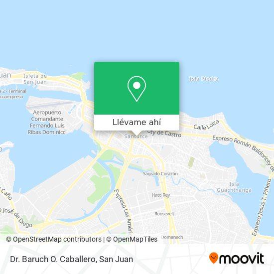 Mapa de Dr. Baruch O. Caballero