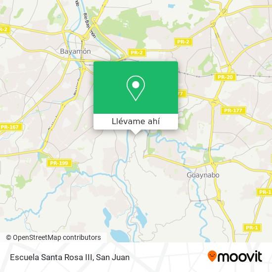 Mapa de Santa Rosa III