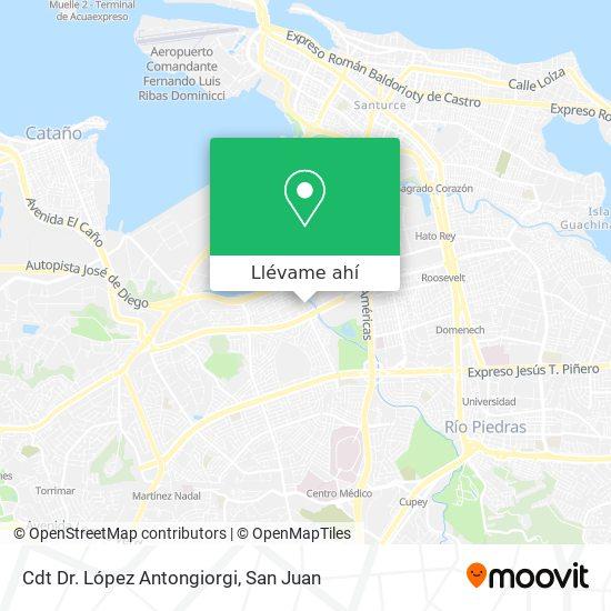Mapa de Dispensario De Puerto Nuevo