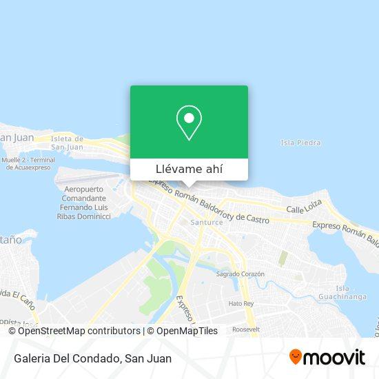 Mapa de Galeria Del Condado