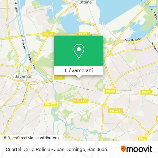 Mapa de Cuartel De La Policia - Juan Domingo