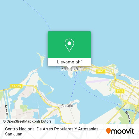 Mapa de Centro Nacional De Artes Populares Y Artesanias