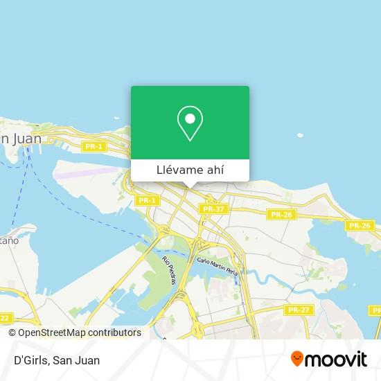 Mapa de D'Girls
