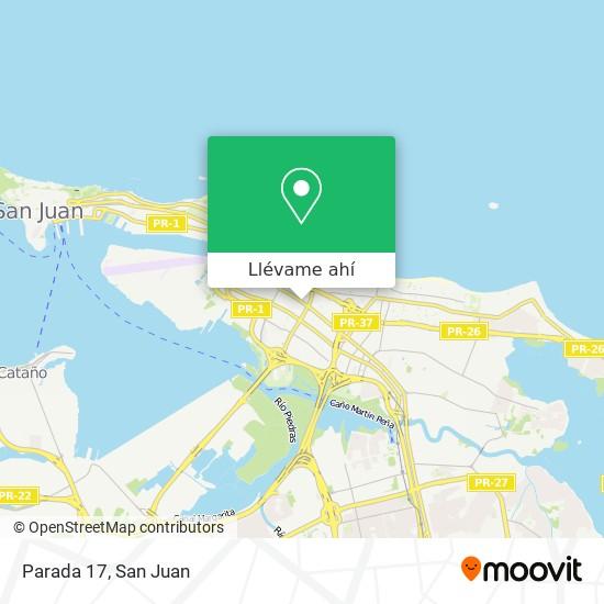Mapa de Parada 17