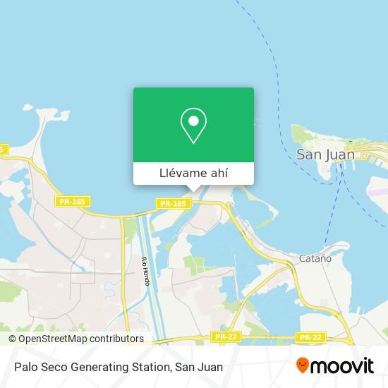 Mapa de San Juan Generating Station