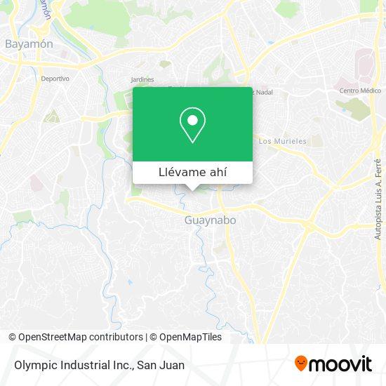Mapa de Olympic Industrial Inc.
