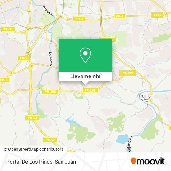 Mapa de Portal De Los Pinos