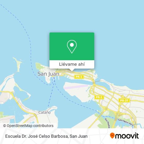 Mapa de Escuela José Celso Barbosa
