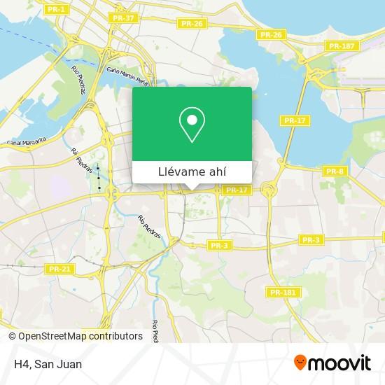 Mapa de H4
