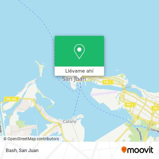 Mapa de Bash