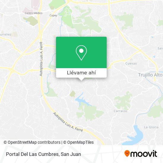 Mapa de Portal Del Las Cumbres
