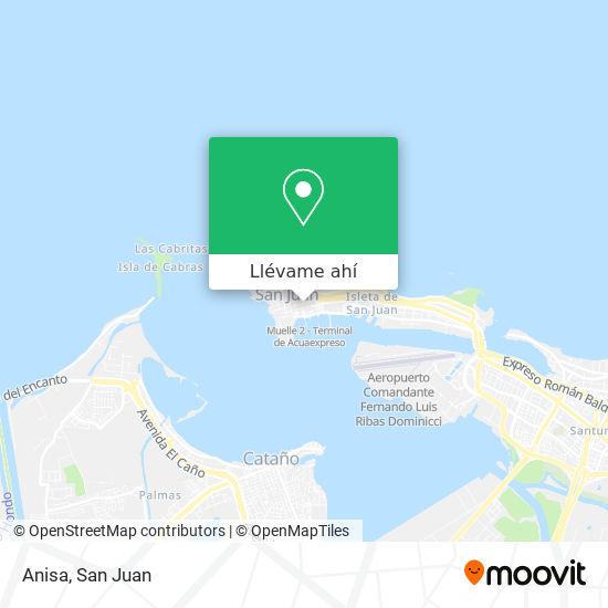 Mapa de Anisa